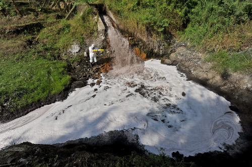 Citarum Tercemar Bahan Kimia Berbahaya Hijauku Com Situs Hijau Indonesia