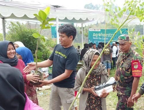 Hijaukan Bandung Utara, PEPB Tanam Kelor