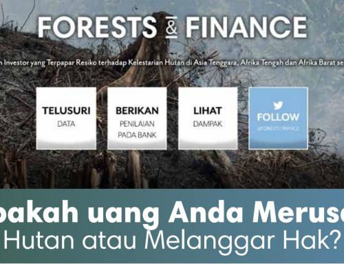 Bank Kucurkan $154 Miliar untuk Perusahaan Perusak Hutan